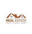 real-estate-logo vector image vector image