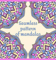 seamless pattern on pale yellowa background vector image vector image