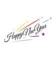 splashing firework new year 2020 celebrations vector image vector image