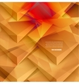 3d banners and squares Design vector image vector image