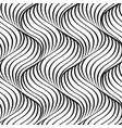 abstract wavy line seamless pattern vector image vector image