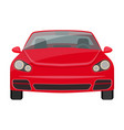 car single icon in cartoon style for designcar vector image vector image
