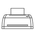 digital printer icon outline style vector image vector image