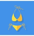 Female Swimsuit Isolated vector image vector image