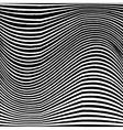 Lined Grunge Background Wave vector image vector image