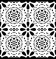 mexican floral seamless pattern vector image vector image