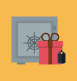 secure shopping online vector image vector image