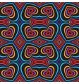 Three-dimensional volumetric seamless pattern vector image vector image
