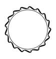 round frame element vintage stamp vector image