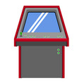arcade machine icon vector image