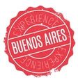Buenos Aires stamp vector image