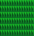 dimension pattern green color vector image vector image
