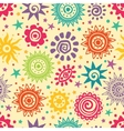 Ethnic sun pattern vector | Price: 1 Credit (USD $1)