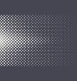 halftone rhombus pattern geometric technologic vector image vector image