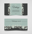 Vintage background cards vector image vector image