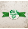 World Environment Day awareness Banner Template vector image vector image