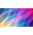 abstract colorful background with waves vector image
