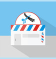 barbershop icon set of great flat icons design vector image