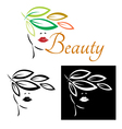 Beauty style vector image