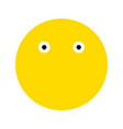 emoticons smile icon vector image vector image