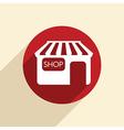 shop building vector image