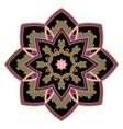 simple abstract mandala vector image