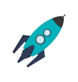 toy rocket icon vector image