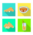 design fresh and product sign vector image vector image