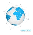 Global network connection vector image