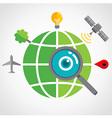 GlobalSearch vector image