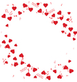 notes hearts vector image vector image