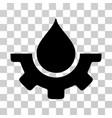 water service icon vector image vector image