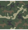 seamless pattern camo vector image