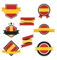 World Flags Series Flag of Spain vector image