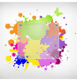 Background With Glass And Blots vector image vector image