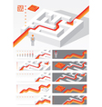 Business concept Maze vector image vector image