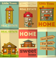 home posters vector image vector image