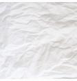 texture crumpled paper vector image