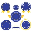 World Flags Series Flag of European Union vector image