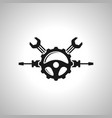 auto expert service image symbol icon vector image