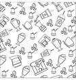 coffee theme wallpaper icon vector image