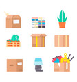 move service box full craft vector image vector image