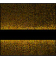 multicolor abstract lights gold disco background s vector image