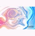 pink blue presentation concept modern design vector image