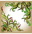 Sketchy doodles decorative color outline vector image