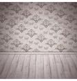 Vintage Room Interior vector image vector image