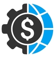 World Industry Finances Icon vector image