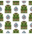 bulletproof vest seamless pattern background vector image