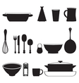 Food and Drink kitchen utensils isolated vector image vector image