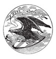 the official seal of the us state of alabama in vector image vector image
